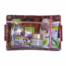 Cesta 6 productos Aceite de Oliva con crema facial
