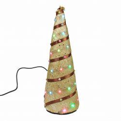 Árbol de Navidad con secuencia de luces
