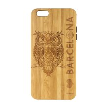 Funda Iphone 6 Plus Búho I Love Barcelona