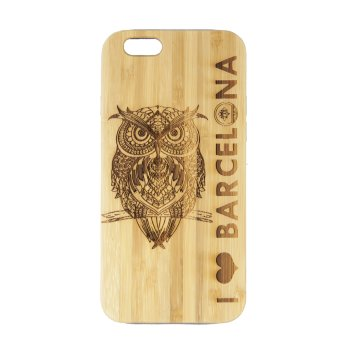Funda Iphone 6 Búho I Love Barcelona