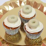 Cupcake de Filipino blanco