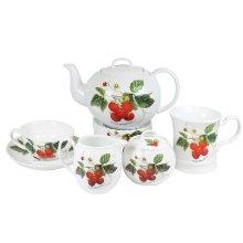 Juego de Té por piezas de porcelana