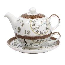 Tetera individual porcelana ''Ben''