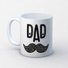 Taza ''Dad'' bigotes padre