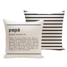 Funda de cojín ''Papá'' definición