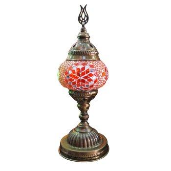 Lámpara Turca de Copa Mosaico Cristal