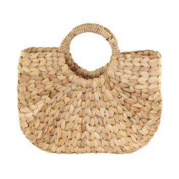 Capazo Pandan cesta bolso rígido de palmito