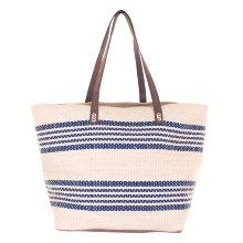 Bolsa Cesta bolso de playa de Lino Azul
