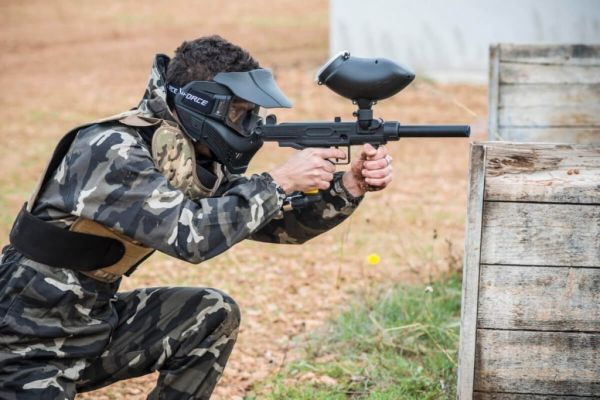 Pack Paintball 10 personas