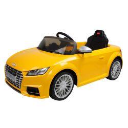 Audi TT Amarillo 12V coche eléctrico de paseo