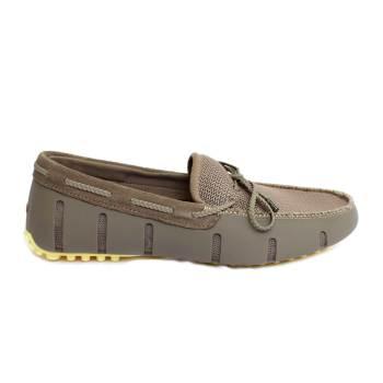 Zapato de hombre estilo mocasín náutico Kaki