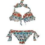 Bikini estampado floral