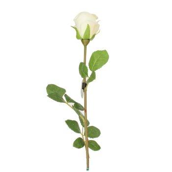 Rosa blanca Individual Artificial