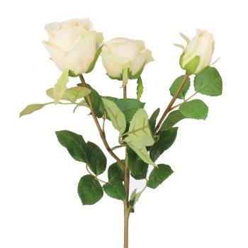 Tallo con tres Rosas Artificial