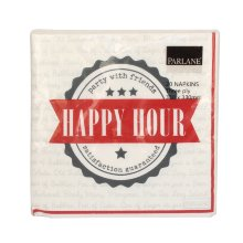 "Servilletas ""Happy Hour"""