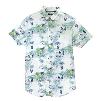 Camisa manga corta hombre estampado Hawai