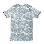 Camiseta manga corta hombre efecto revertida