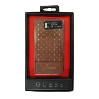 Funda Guess para Samsung Galaxy S4 Mini marrón