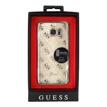 Funda Guess Samsung Galaxy S7 Transparente Plata