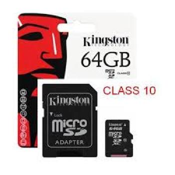 Kingston , Tarjeta micro SDHC de 64 GB, Neg