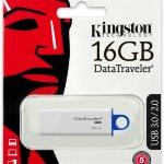 Kingston , USB 16GB, Data Traveler