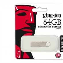 Kingston , USB 64 GB, Data Traveler