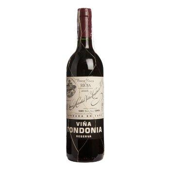 Vino tinto reserva Viña Tondonia 75cl.