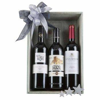 Caja de navidad 3 vinos