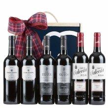 Caja de navidad 6 vinos