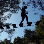 Recorrido 3 Tirolinas + 4 Puentes + escalada