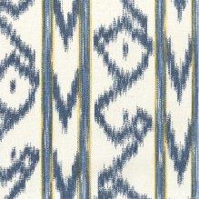 Tela tejida Llengües 140-220 Azul/Amarillo