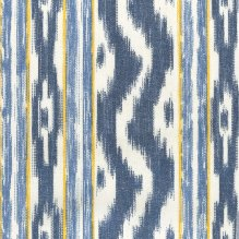 Tela tejida Llengües 140-201 Azul/Amarillo