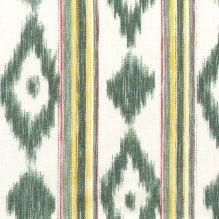 Tela tejida Llengües 140-216 Multi Verde
