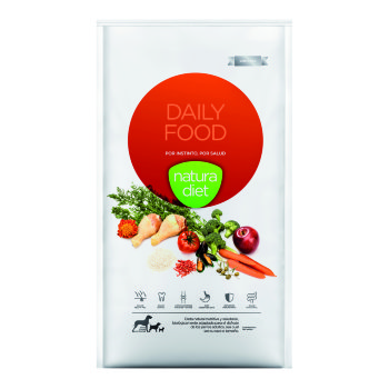 2x1 Natura Diet Daily Food para perros adultos