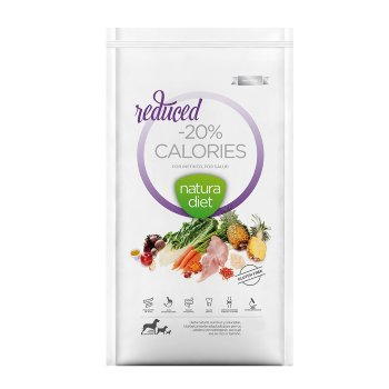 Natura Diet Reduced -20% Calories perros sobrepeso