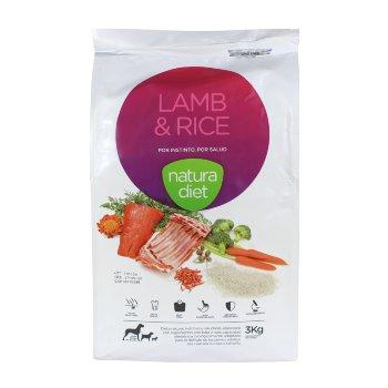 Alimento para perros Natura Diet Lamb & Rice