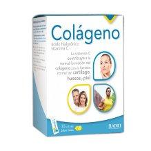 Colágeno con ácido hialurónico y vitamina C