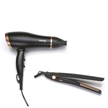 Set de secador de pelo y plancha Tristar HD2322