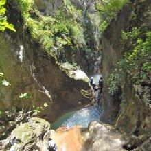 Descenso de Barranco Coanegra, Nivel iniciación