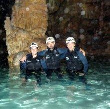 Explora Day Cueva des Coloms, Nivel iniciación