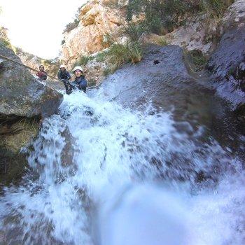 Descenso de Barranco Lli, Nivel Avanzado