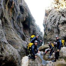 Descenso de Barranco Mortix, Nivel Experto