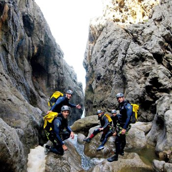Descenso de Barranco Mortix, Nivel Experto