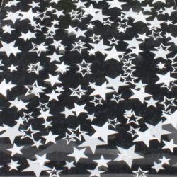 Bolsa plástico estrella 25x40