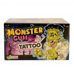 Chicle Monster tattoo