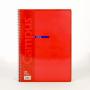 Cuaderno Horizontal Cartón Rojo