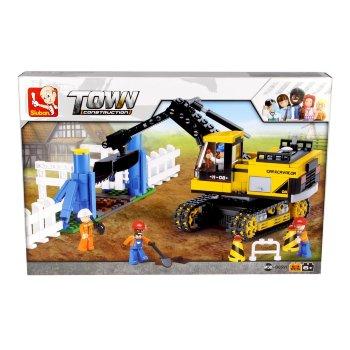 Excavadora de construcción