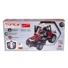 Tractor piezas metálicas rojo
