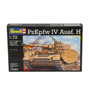 Tanque PzKpfw IV Ausf H 1:72