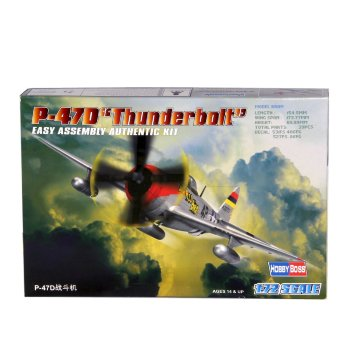 Avión P-47D Thunderbolt